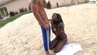 Tatiyana Foxx Playing Sex Volleyball With Rocco