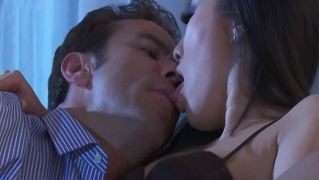 Asian Babe Blows Her Stud So She Can Get Fucked By Him