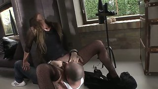 Mike Angelo And Sophie Lynx In Wild Hardcore Scene