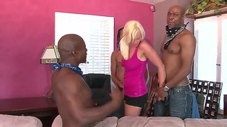 Three Black Guys On One Little Girl Whitney Grace, I Think She Will Handle It