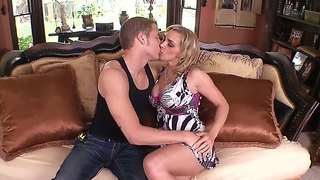 Busty Blonde Milf Tanya Tate Seduces Young Stud