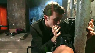 Bdsm Kiss By James Deen And Cassandra Nix