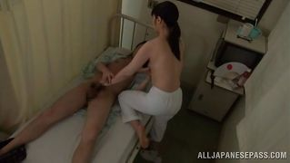 Japanese Nurse Fucks A Patient