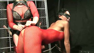 Christina Bella And Kathia Nobili Play Wild Femdom Games