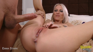 Blonde Milf Gets A Creampie
