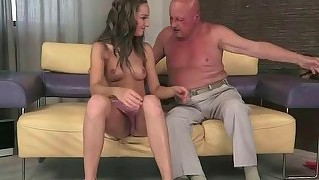 Grandpa Fucks Beautiful Teen