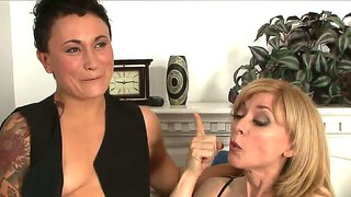 Nina Hartley Seduced By Bull Dyke Syd Blakovich A