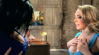 Incredible Hot Jayden Jaymes And Kagney Linn Karter