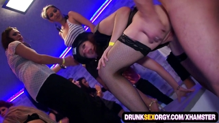 Dirty Costume Group Sex Party