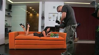 Teen Bettina Dicapri Strips Down To Her Bare Skin And Masturbates For Cam