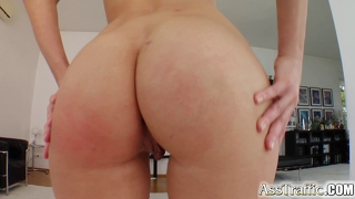 Liz's Ass Is Fucked Up With A Large Cock