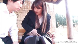 Brunettes Japonais Anal Insertion