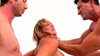Nikki Sexx Is Being Gangbanged And She Likes It