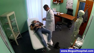 Reality Patient Gets Horny For Her Dr