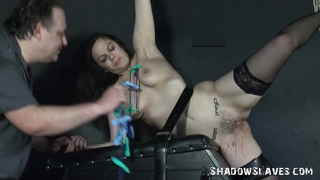 Punished Amateur Babe In The Dungeon