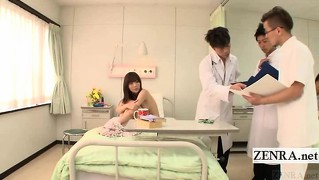 Subtitle Cmnf Enf Japanese Hospital Patient Examination