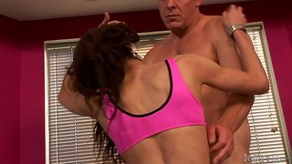 Tranny Cheerleader Seduces Her Coach