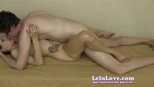 Lelu Love-Passionate Lovemaking Missionary Creampie