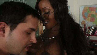 Kris Slater Enjoys Having This Hot Ebony Diamond Jackson At His Disposal
