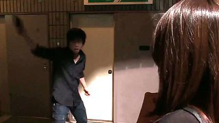 Bad Ass Babe Rina Fujimoto Gets Caught And Deep Penetrated By Horny Males