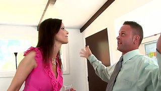 Syren De Mer And Tyler Knight In Office Seduction