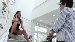 Busty Phoenix Marie In Stockings Anal And Oral