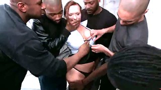 Katja Kassin Copes With Numerous Black Dicks
