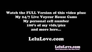 Lelu Love-Smell My Stinky Pussy And Asshole