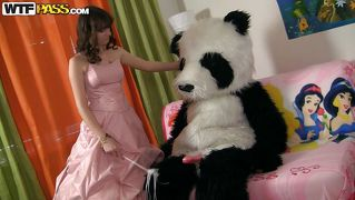 Panda Makes A Whore From A Princess