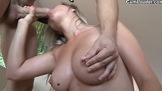 Euro Sunny Diamond Shows Off Her Big And Natural Boobs