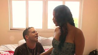 Interracial Dick Sucking Action, Feat. Suzany