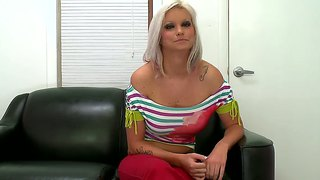 Lusty Blonde Deadra Dee On A Porn Audition