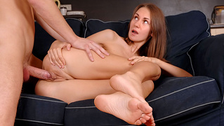 Hot Girl Loves To Take Care Of Her Asshole With A Large Dick