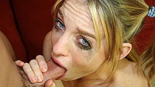 Riley Shy Taught A Lesson In Gagging
