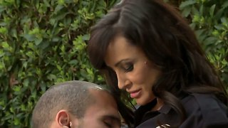 Busty Lisa Ann Enjoys In Afternoon Cock Sucking