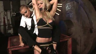 Hot Blonde Babe Alexa Weix Gets Displined With The Kinky Mistress Sinead After Getting Tied Up
