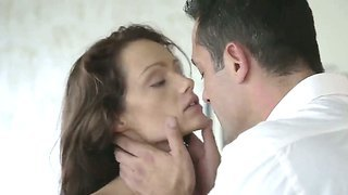 Young Sophie Lynx Filmed Her Mouth By Huge Sexy Dick.