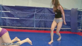 Nudefightclub Presents Kerry Vs Amanda Moore