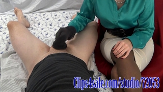 Female Domination Strumpfhose