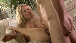 Mature Julia Ann With Amazing Young And Hot Body Frolics With Her New Lover