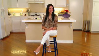 Brunette Milf Giselle Mari Enjoys Being Seduced And Teased While Interviewing