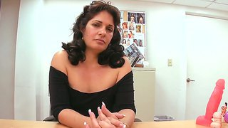 Mature Brunette Kiana Dreams To Become Porn Star, So She Came For Her First Casting Ever