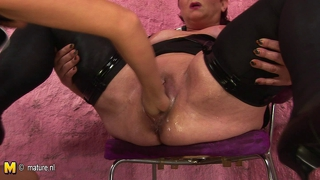 Fat Mature Slut Mother Getting Spanked And Fisted