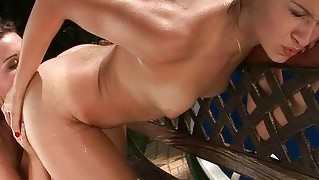 Sexy Lesbian Girls Pissing On Each Other