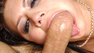 Brunette Enjoying Her Time With Her Mans Dick