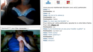 Chatroulette - Cum In Her Throat