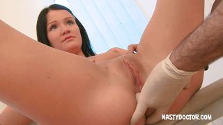 Russian Ass Fucked By Her Doctor