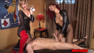 Slave Tongue Vs Hitachi Race Femdom Pussy Worship Cbt