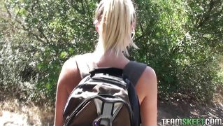 Hiking And Fucking With My Blonde