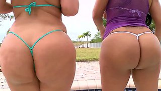Julie Cash And Kiara Marie Showing Hot Butts